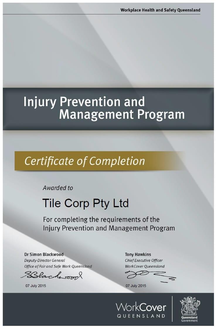Tilecorp IPAM Program COC